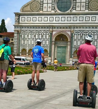 There are all sorts of creative ways to travel around Florence!